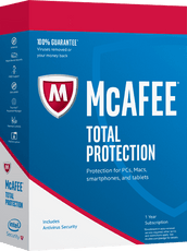 Cheap Antivirus McAfee Total Protection One, Three or Unlimited Devices 12 Month (PC/Mac/Android/iOS) - InterSecure