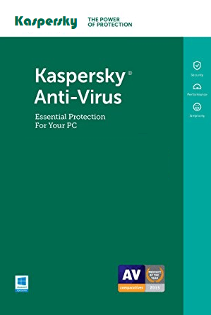 Cheap Antivirus Kaspersky Antivirus - 12 Month Protection - InterSecure