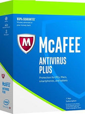 Cheap Antivirus McAfee Complete Antivirus Plus Protection Software -  1 Year - All Windows Devices - InterSecure