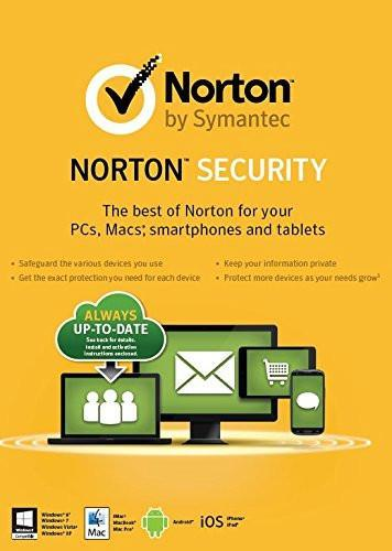 Cheap Antivirus Norton Internet Security & Antivirus Standard - 1 Year - Latest Edition - InterSecure
