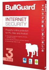 Cheap Antivirus Bullguard Internet Security For Existing & New Customers - 12 Month - 3 Users - InterSecure