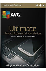 AVG Ultimate Protection PC/MAC/Android - Latest Edition