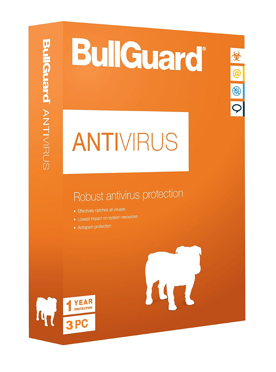 Cheap Antivirus BullGuard Latest Antivirus Protection - For Windows PC's - InterSecure