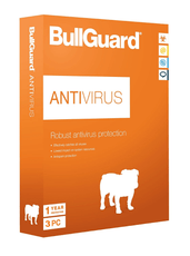 Cheap Antivirus BullGuard Antivirus Protection 2017 - 12 Months - 1 or 3 User - for All Windows PC's - InterSecure