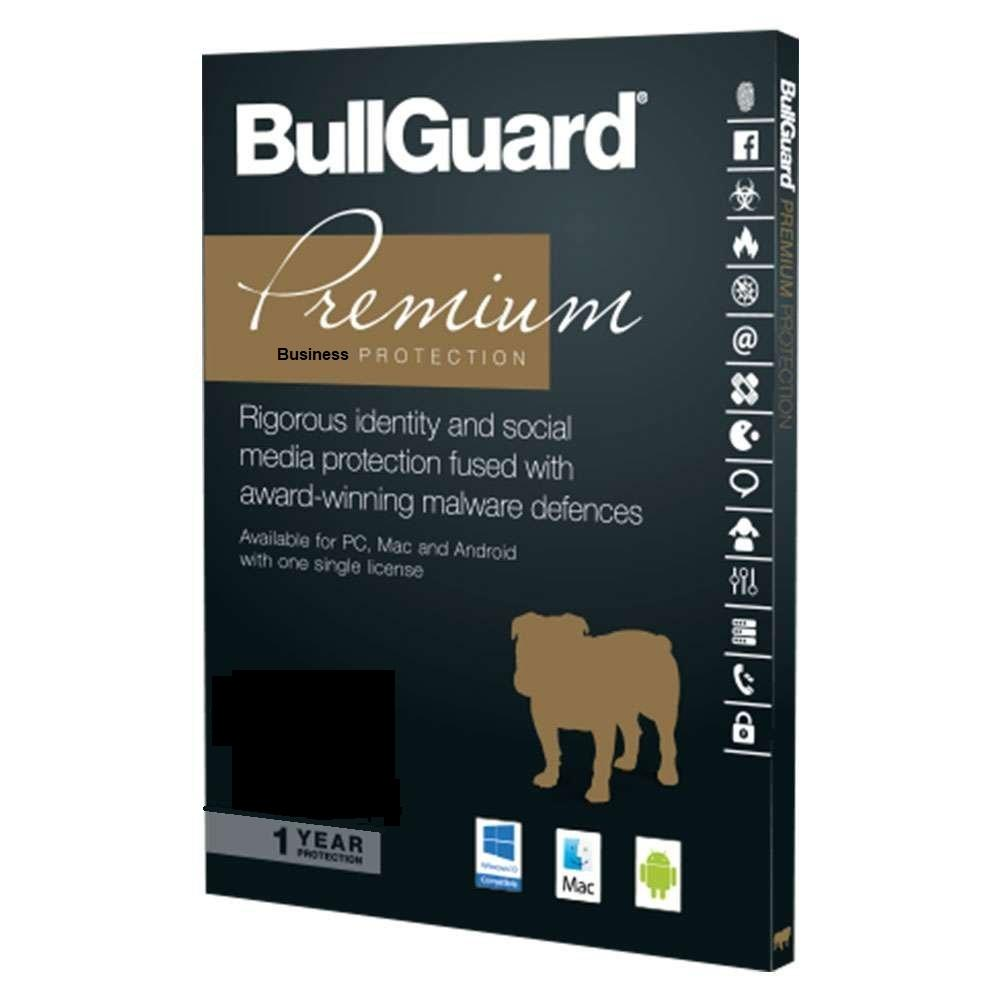 Cheap Antivirus BullGuard Small Business Premium Antivirus & Internet Security Protection - InterSecure
