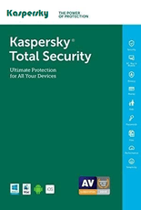 Kaspersky Total Security For 12 Month (Windows, MAC & Android)