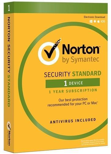 Cheap Antivirus Norton Security Standard - 1 Year Subscription - InterSecure