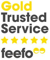 Gold Trusted Service Feefo
