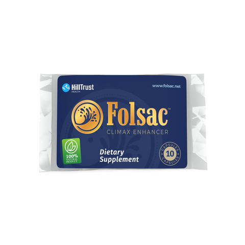 10 Pack - Folsac Climax Enhancer Supplements