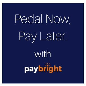 Pedal Now, Pay Later. That's Great News!