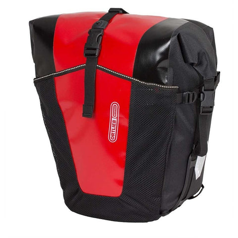 Classic Pannier Red/Black - Bike Doctor Vancouver