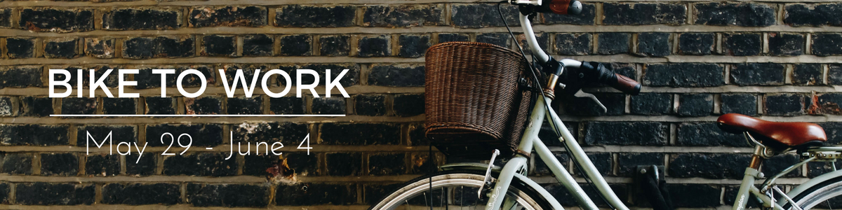 Bike to Work Week May 29 - June 4 - Shop Bike Doctor for Package Deals