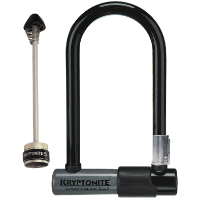 Kryptonite KryptoLok Series 2 Mini-7 U-Lock Black - Bike Doctor, Vancouver