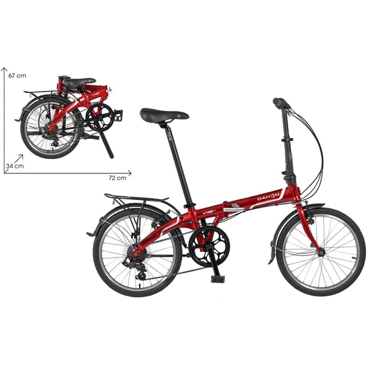 Dahon Vybe D7 DLX Folding Bike