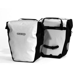 Shop Ortlieb Back-Roller City Panniers 40L, White At The Bike Doctor, Vancouver.
