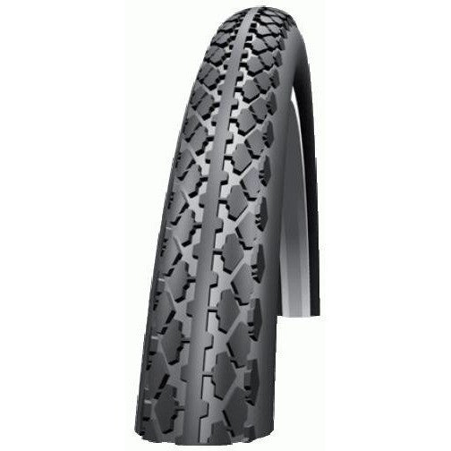 Tire Schwalbe HS159 whitewall 27x1-1/4 85psi