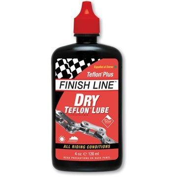 Finish Line Dry Lubricant w/ Teflon (4 oz.) - Bike Doctor, Vancouver