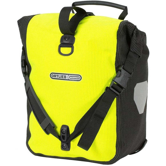 Ortlieb Sport-Roller H-Visibility Bag Neon Yellow - Bike Doctor, Vancouver
