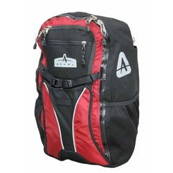 Shop Arkel Bug Backpack Pannier 25L, Black/Red At The Bike Doctor, Vancouver.