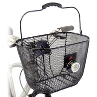 Axiom Fresh-Mesh DLX Front Basket - Bike Doctor, Vancouver