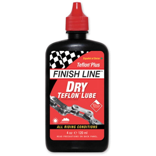 Shop Finish Line Dry Lubricant With Teflon (4 oz Bottle) At The Bike Doctor, Vancouver!