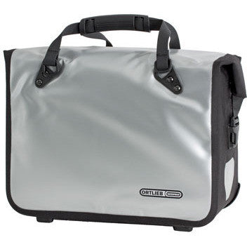 Ortlieb QL2 Classic 21L Office Bag Silver - Bike Doctor, Vancouver