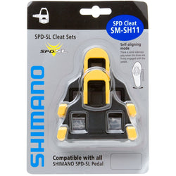Shimano SPD-SL SM-SH11 Cleat Set - Bike Doctor, Vancouver