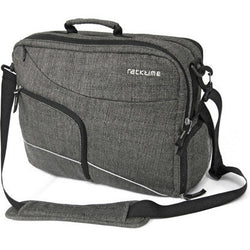 Racktime Workit Office Laptop 30L Pannier Bag Black/Grey. Shop Bike Doctor, Vancouver!