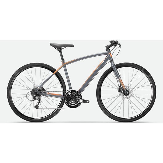 Devinci London '17 Bike Charcoal/Orange - Bike Doctor, Vancouver