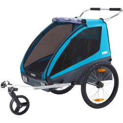 Thule Chariot Coaster XT, Blue - Bike Doctor, Vancouver