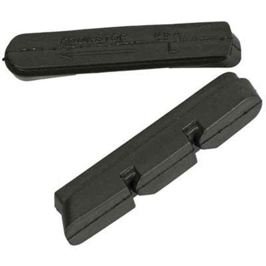 Kool-Stop Dura-Type Road Break Pad Inserts For Shimano Black. Shop Bike Doctor, Vancouver!