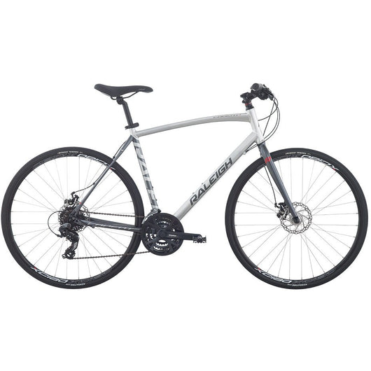Raleigh Cadent 2 '16 Bike Silver - Bike Doctor, Vancouver