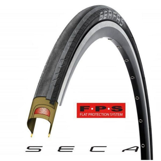STK SECA Road Tire Wire Bead 700x28 - Grey