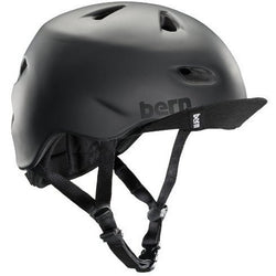 Shop Bern Brentwood Helmet Cfit L/XL, Black At The Bike Doctor, Vancouver.