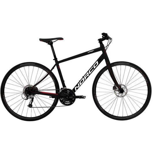Norco VFR 5 Disc '16 Bike Black/Red - Bike Doctor, Vancouver