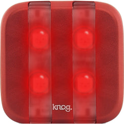 Shop Knog Blinder 4LED USB Rear Light Red At The Bike Doctor, Vancouver.
