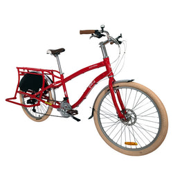 Shop Yuba Boda Boda V3 Cargo Bike Red At The Bike Doctor, Vancouver.
