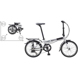 Dahon Mariner D7 Brushed Aluminum Folder - Bike Doctor, Vancouver