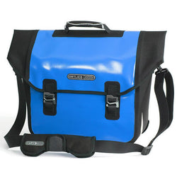Shop Ortlieb Downtown QL2.1 Pannier 18L, Blue/Black At The Bike Doctor, Vancouver.