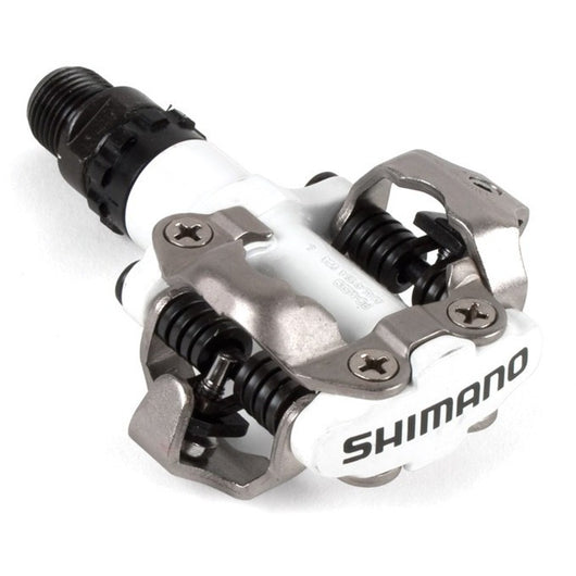 Shimano PD-M520 Pedals White - Bike Doctor, Vancouver