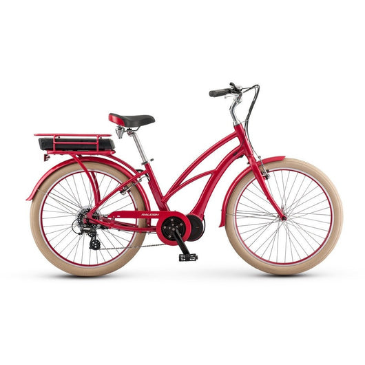 Raleigh Retroglide IE Currie Step Thru '17 Bike Red OS - Bike Doctor, Vancouver