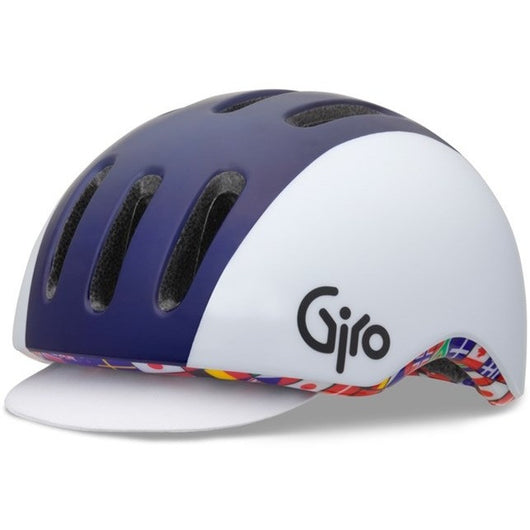 Giro Reverb Helmet Blue/White Flags Large - Bike Doctor, Vancouver