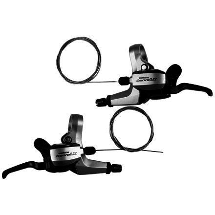 Shimano LX M580 Dual Control Brake Lever Set - Bike Doctor, Vancouver