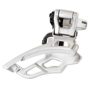 SRAM X9 9-speed Front Derailleur(High-clamp, Top-pull)