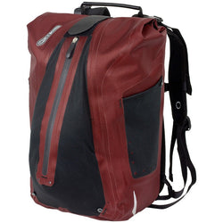 Ortlieb City Vario QL3 20L Backpack Bag Red/Black - Bike Doctor, Vancouver