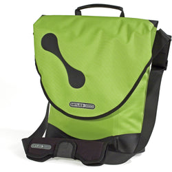 Shop Ortlieb City Biker Shoulder Bag QL2 10L, Lime Green At The Bike Doctor, Vancouver.