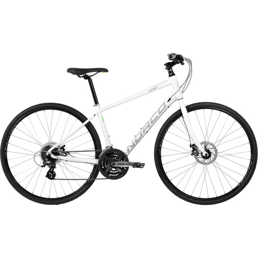 Norco VFR 5 Forma Disc '16 Bike White/Green - Bike Doctor, Vancouver