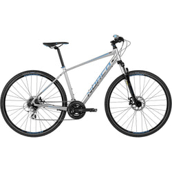 Norco XFR 4 '16 Bike Silver/Blue - Bike Doctor, Vancouver