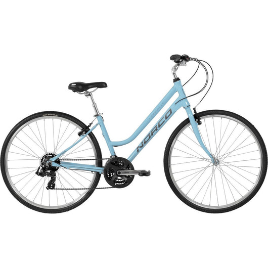 Norco Yorkville '16 Step-Thru Bike Blue - Bike Doctor, Vancouver