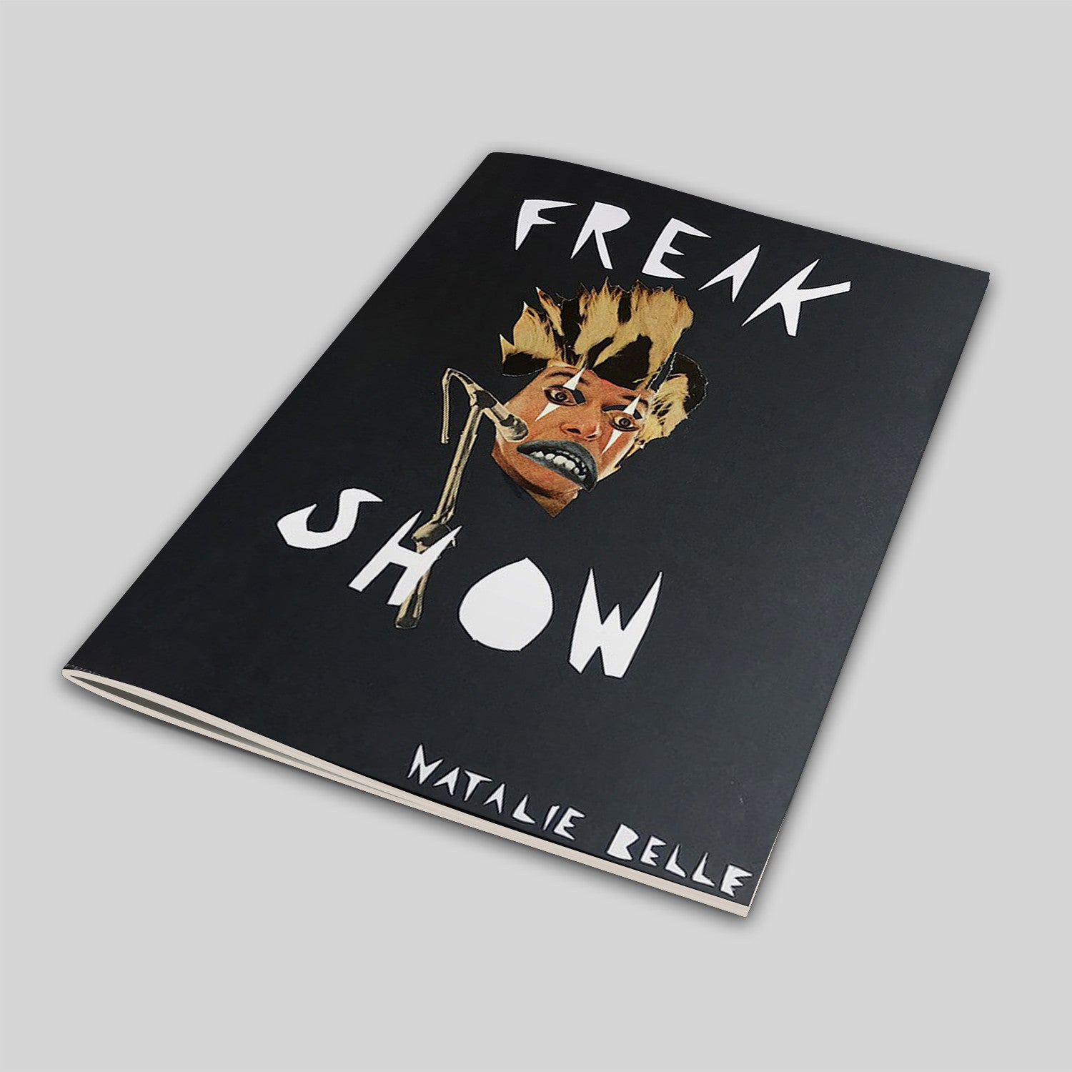 "LIMITED EDITION B&W ""FREAK SHOW"" ZINE"